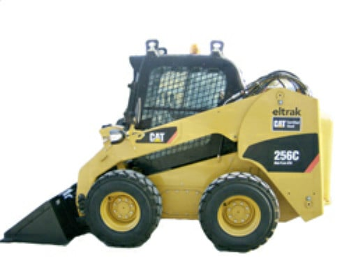 CAT C Skid steer windshield