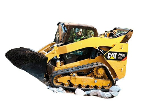 CAT windshield skid steer D