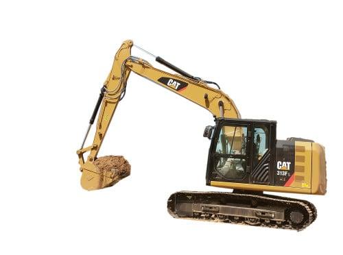 CAT E & F excavator windshield