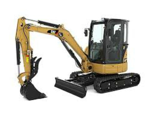 CAT Mini-Excavator Windshield