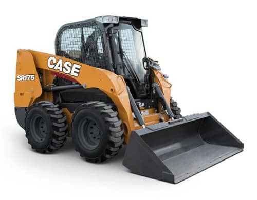 Case skid steer windshield
