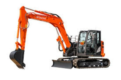 Hitachi COMPACT Excavator Windshield
