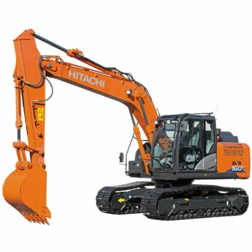 Hitachi ZX-3 MID-SIZE Excavator Windshield