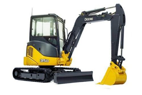 John Deere Excavator Windshield D