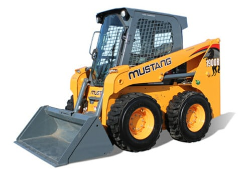 Mustang skid steer windshield