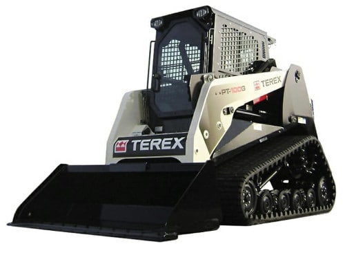 Terex windshield