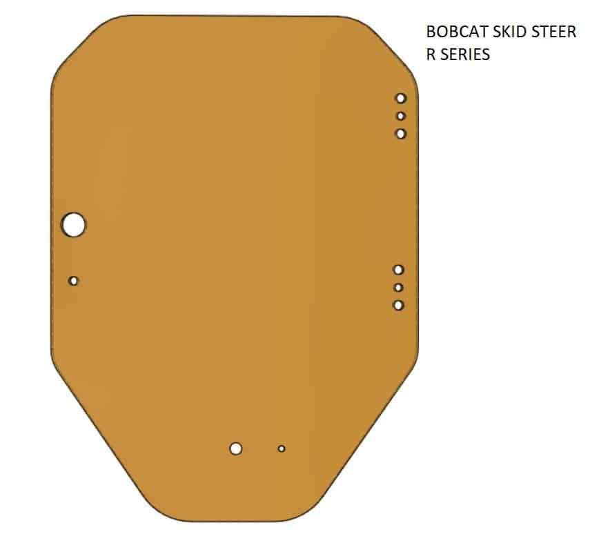 Bobcat R series skid steer door
