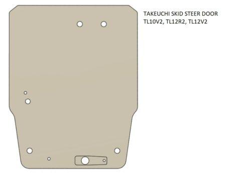 Takeuchi skid steer door