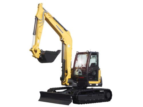Yanmar Excavator windshield