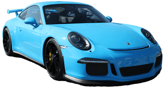 Porsche polycarbonate windshield